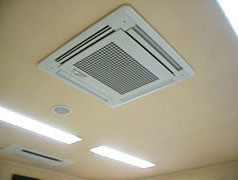天井の空気清浄機器