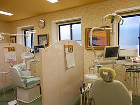 診療台です